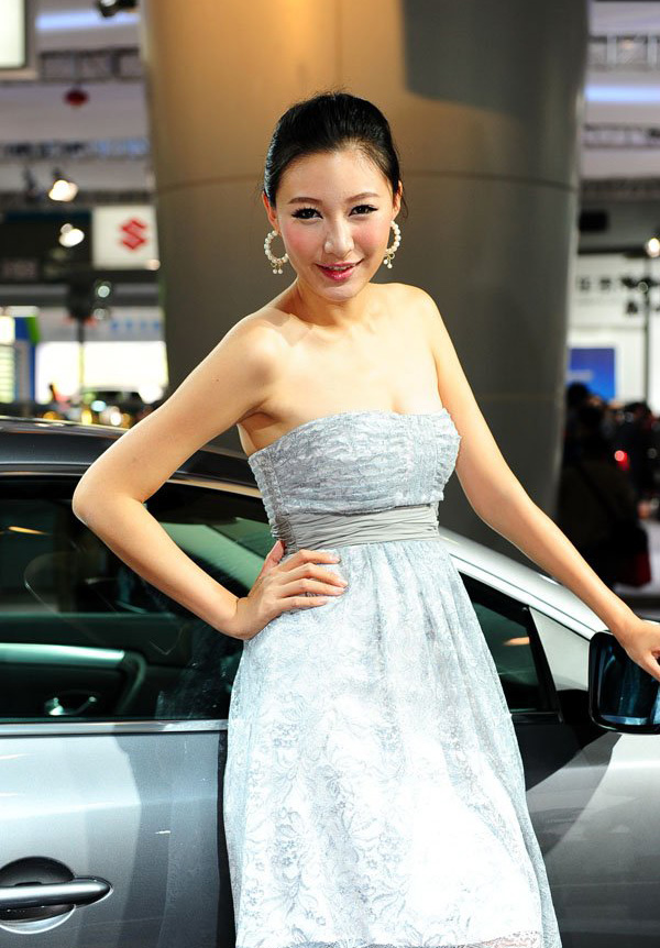 2009成都车展 车模美女